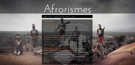 Afrorismes, une passerelle culturelle entre l'Afrique et l'Europe | Pralines | Scoop.it