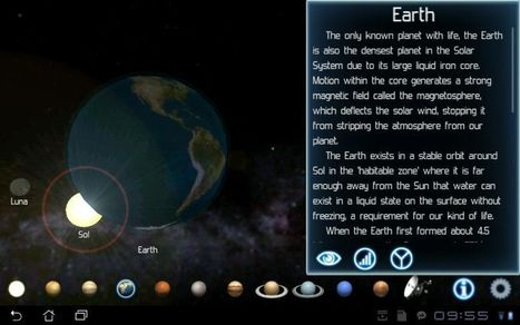 Solar System Explorer — Stunning Way To Learn About Space - Tablified | Android Tablet Apps, Games & Reviews | Android Apps | Scoop.it