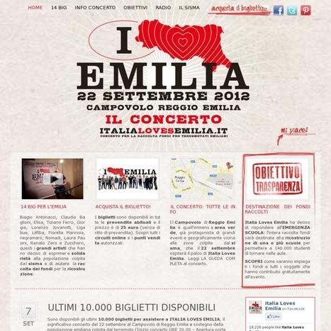 Italia Loves Emilia - 14 big della musica italiana hanno deciso di dare il loro sostegno con un grande e significativo concerto | La Gazzetta Di Lella - News From Italy - Italiaans Nieuws | Scoop.it