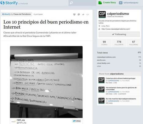 10 principios a tener en cuenta para hacer un buen periodismo en Internet | Ética para periodistas. | Scoop.it