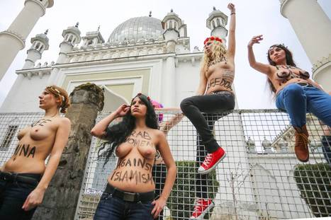 FEMEN is coming: the bare-breasted feminist group who want London women to go topless in the name of political protest | Women and Terrorism. | Scoop.it