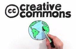 Creative Commons : vidéo d'animation explicative - Educavox   TIC et ESS   Scoop.it
