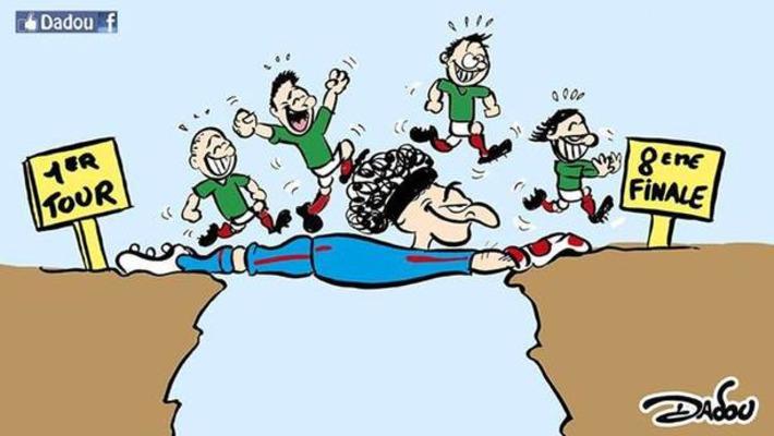 Les sud-américains continuent d'éclabousser de leur talent ce Mondial | Baie d'humour | Scoop.it