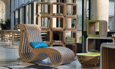 Quando il cartone diventa design - InInsubria | Modulor | Scoop.it