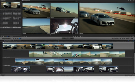 Apple - Final Cut Pro X - Software Update With Multicam | DSLR video and Photography | Scoop.it