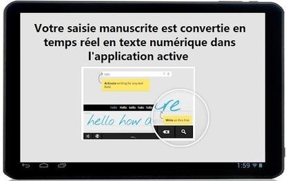 MyScript Stylus (Beta) - Applications Android sur GooglePlay | Tablet opetuksessa | Scoop.it