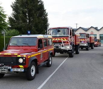 Vosges - En images : douze sapeurs-pompiers en renfort dans le Sud contre les incendies   Sapeurs-pompiers de France   Scoop.it
