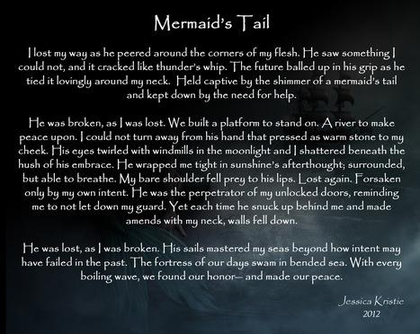 Mermaid's Tail | JessicaKristie.com | Pure Poetry | Scoop.it
