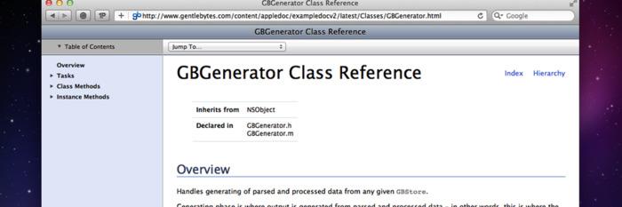 Appledoc - Objective C API documentation generator | iPhone and iPad development | Scoop.it