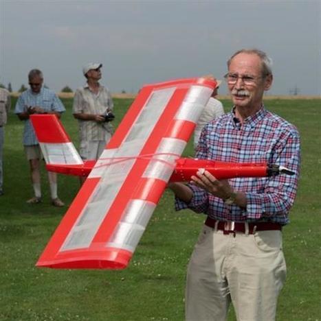 German pensioner 3D prints amazing functional planes with up to 2m wingspan | Heron | Scoop.it