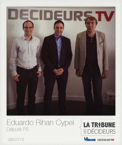 LIVE #LTDD : Eduardo Rihan Cypel, député de Seine-et-Marne, porte-parole du Parti Socialiste.   #LTDD   Scoop.it