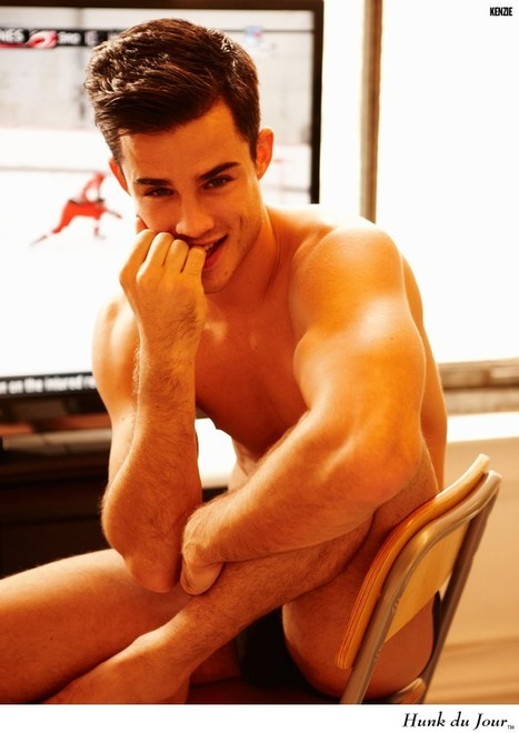 Your Hunk of the Day: Kenzie Roth : Hunk du Jour | QUEERWORLD! | Scoop.it