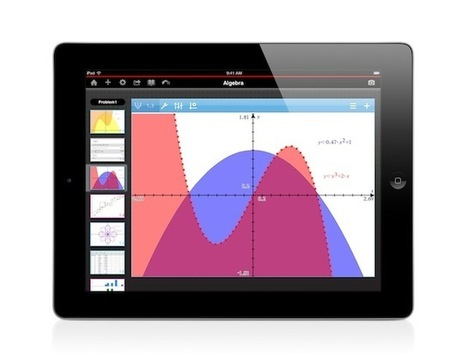 At long last, TI releases graphing calculator for the iPad | iPads in Education | In The Classroom | Scoop.it