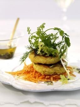 Rezept der Woche: Kräutersalat mit Kartoffelplätzchen | Lifestyle | Scoop.it
