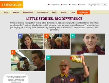 Sainsbury's employees share Little Stories | All Things IC | Insights | Scoop.it