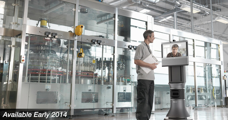 iRobot Ava 500 Video Collaboration Robot | Robolution Capital | Scoop.it