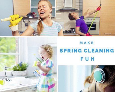 House for my chaos: Make Spring cleaning fun – who says cleaning can't be entertaining? | Home improvement | Scoop.it