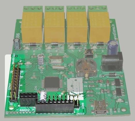 Using USB digital I/Os of U96 Usb Relay card | Serial LCD | Scoop.it
