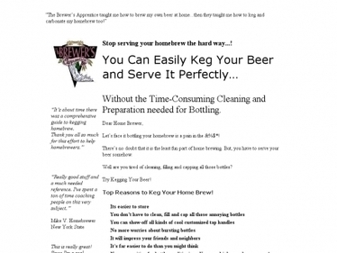 The Guide To Kegging Your Homebrew | The Wine Making Guy | Homebrewing, Beer and Mead | Scoop.it