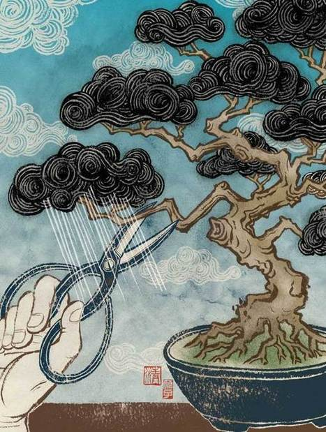 Smart Environmental Illustrations by Yuko Shimizu | green infographics | Scoop.it