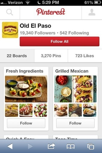 52pc of Pinterest users consult app in-store to guide purchases: report - Mobile Marketer - Research | Pinterest | Scoop.it