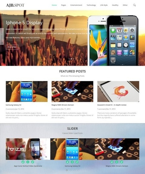 27 of the Best Free & Premium Minimal Blogger Themes | Blogger themes | Scoop.it