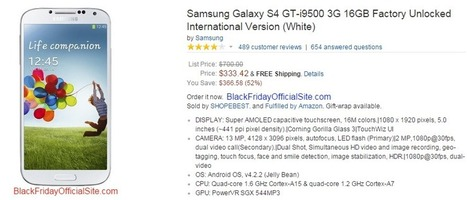 Best Online Black Friday Cellphone Deals 2014 | Great Coupons and Deals | Scoop.it
