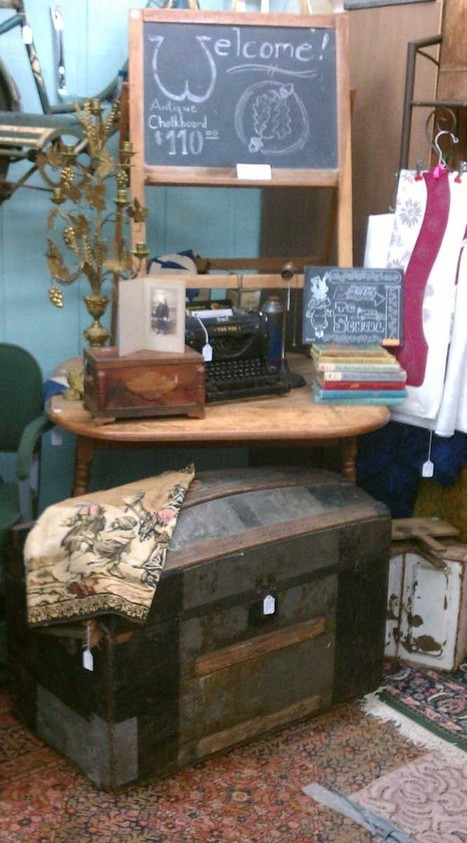 Fair Oaks Antiques — Our latest display at Exit 55 Antiques - for more... | Antiques & Vintage Collectibles | Scoop.it