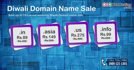 Amazing Domains Registration offer | AGM Web Hosting | Scoop.it