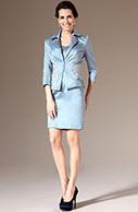 [EUR 129,99] eDressit 2014  Nouveauté Bleu Claire Satin Jacket 2 Pièce Robe Mère de Mariée(26143632)   eDressit 2014 Nouveauté Magnifique Robe de Soirée en tendance   Scoop.it