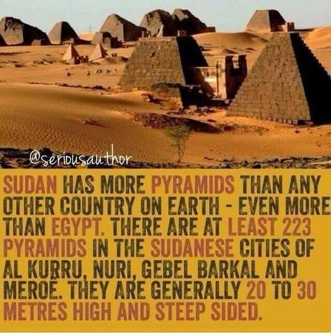 Sudan has 3 times as much pyramids than Egypt. See them with your own eyes? http://tinyurl.com/l4b3n5f | Ancient Egypt and Nubia | Scoop.it
