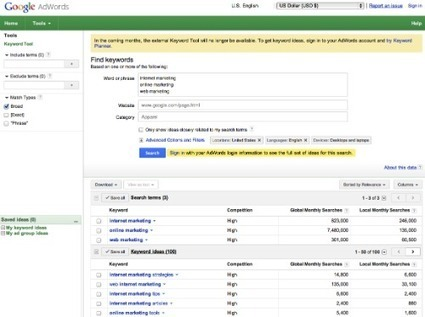 Google External Keyword Tool To Be Discontinued, Join Google Reader | Content Creation, Curation, Management | Scoop.it