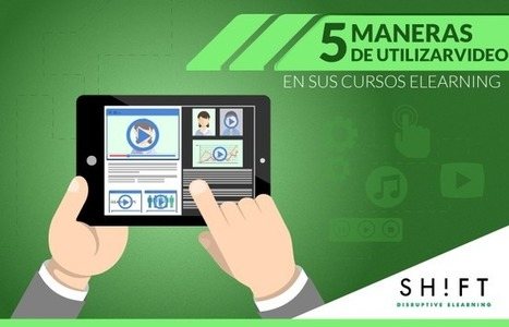5 maneras de utilizar #video en sus cursos #eLearning | El Aula Virtual | Scoop.it