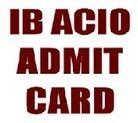 IB ACIO Admit Card Download 2013 | IB ACIO Exam Hall Ticket www.mha.nic.in | Jobsbig.com | Scoop.it