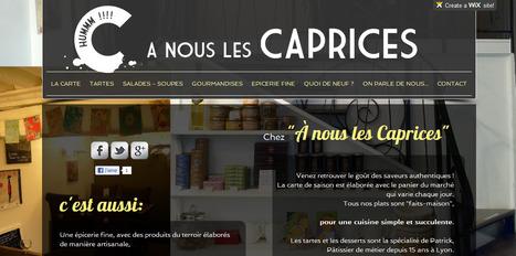 Comment faire un beau site avec peu de moyens ? A nous les caprices a choisi WIX | Astuces numériques des pros du tourisme du Rhône | Scoop.it