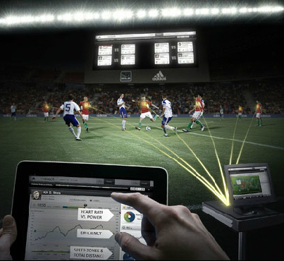 Adidas and US Major League Soccer Announce World's First Smart Soccer Match on July 25th. | Quantified-Self & Gamification | Scoop.it