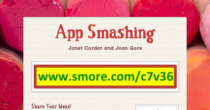 App Smashing | Edtech PK-12 | Scoop.it