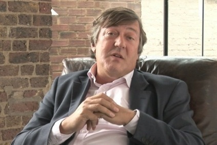 "Stephen Fry Launches Pindex, a ""Pinterest for Education"" 
