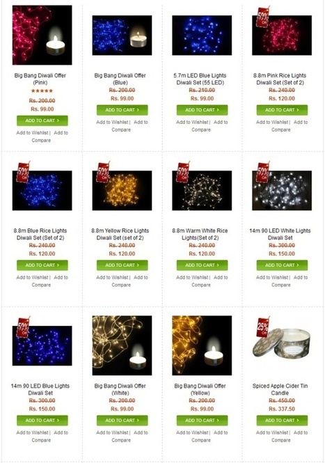 Brighten Up The Festival With Multicolor Diwali Light Set | LED Lighting Products | LED Lights | Scoop.it