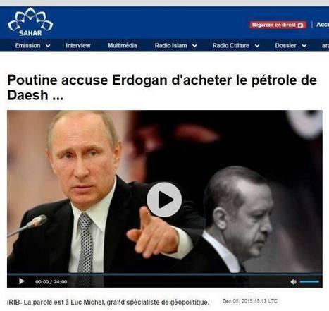# EODE PRESS OFFICE/ 'POUTINE ACCUSE ERDOGAN D'ACHETER LE PÉTROLE DE DAESH'. L'ANALYSE DE LUC MICHEL SUR RADIO IRIB | LUC MICHEL - LE BLOG | Scoop.it