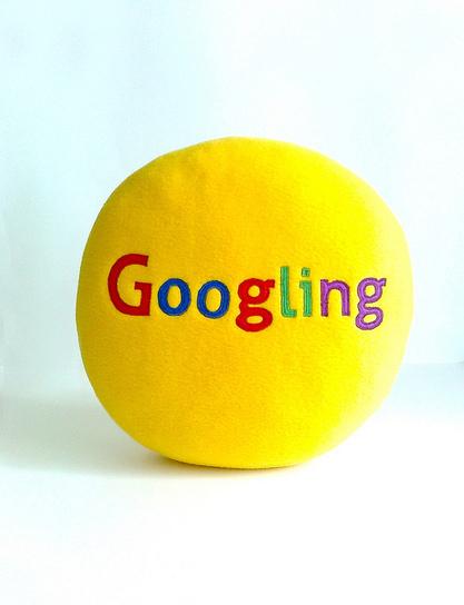 googling pillow round yellow bright_1 | Googling | Scoop.it