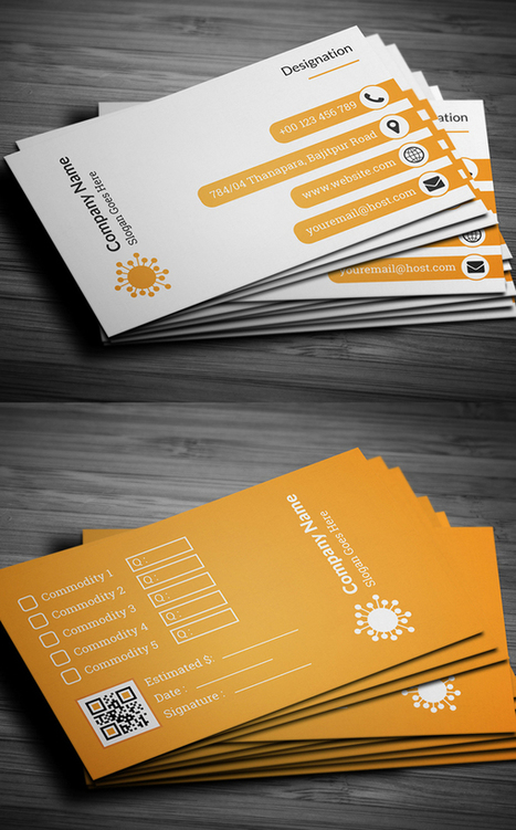 26 New Professional Business Card Showcase | Inspired By Design | Scoop.it