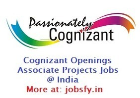 Cognizant Hiring Freshers & Experienced Candidates for Associate Projects on Dec 2014 @ Across India « jobsfy | Latest Job Alerts | Scoop.it