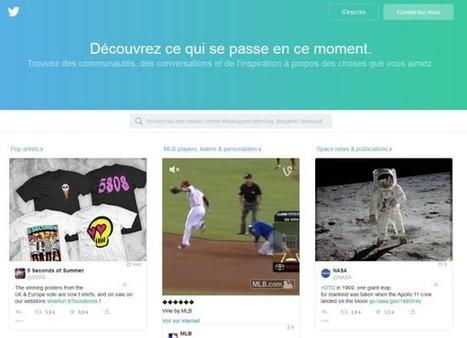 Twitter supprime les backgrounds des profils (et autres nouveautés) - Blog du Modérateur | Clic France | Scoop.it