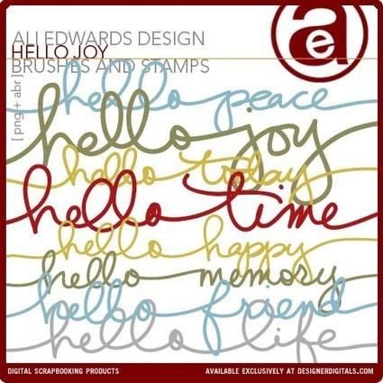 Hello Joy Brushes and Stamps - Photoshop Brushes DesignerDigitals | Curation Education & Design | Scoop.it
