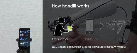 Une fois connecté à votre smartphone, ce bras bionique est capable de reproduire chacun de vos gestes | CRAKKS | Scoop.it