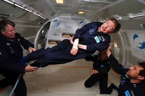 Climateer Investing: Stephen Hawking in Zero Gravity | Astronomy Domain | Scoop.it