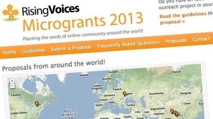 Convocado el concurso de microbecas 2013 de Rising Voices | Periodismo Ciudadano | Periodismo Ciudadano | Scoop.it