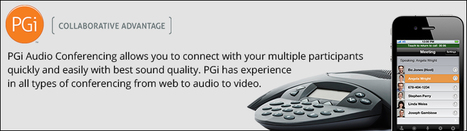 Implement PGi Audio Conferencing for Secure and Reliable Business Meetings | Ethernet, MPLS, IP Flex, VoIP, Long Distance Services & more | Scoop.it