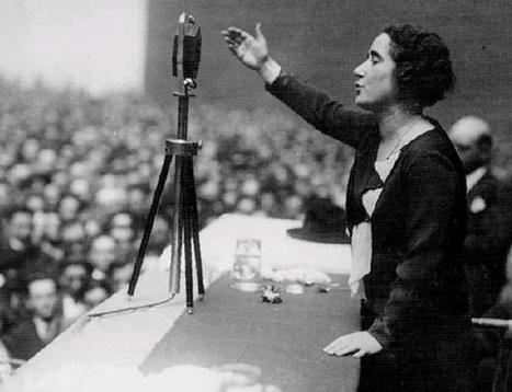 6 'zascas' del discurso de Clara Campoamor por el voto femenino que nos siguen emocionando | La Historia de España | Scoop.it